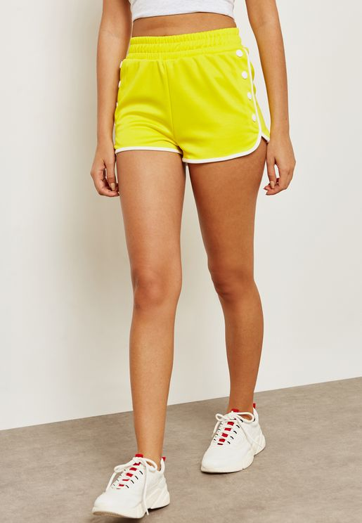 Side Popper Shorts