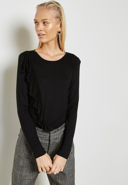 Side Frill Detail Top