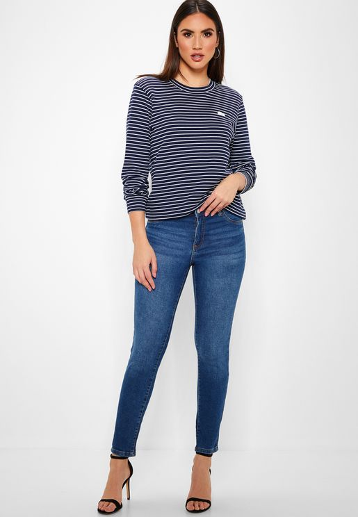 Ankle Length Skinny Jeans