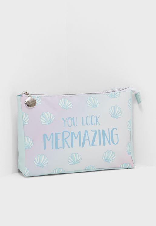 Mermaid Treasures Wash Bag