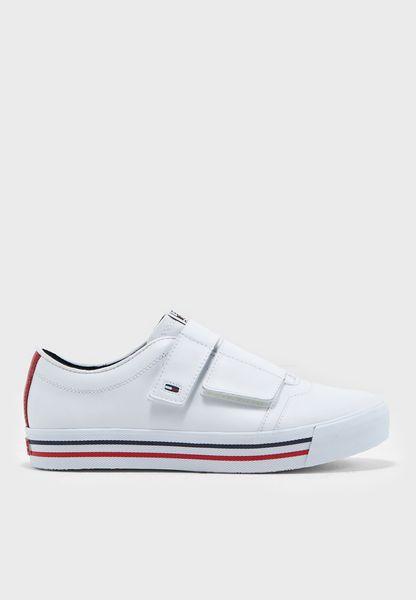 Flat Low Top Sneakers