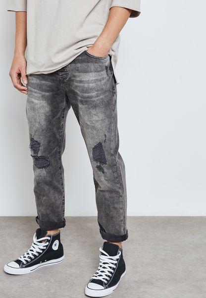Tapered Crop Dara Jeans