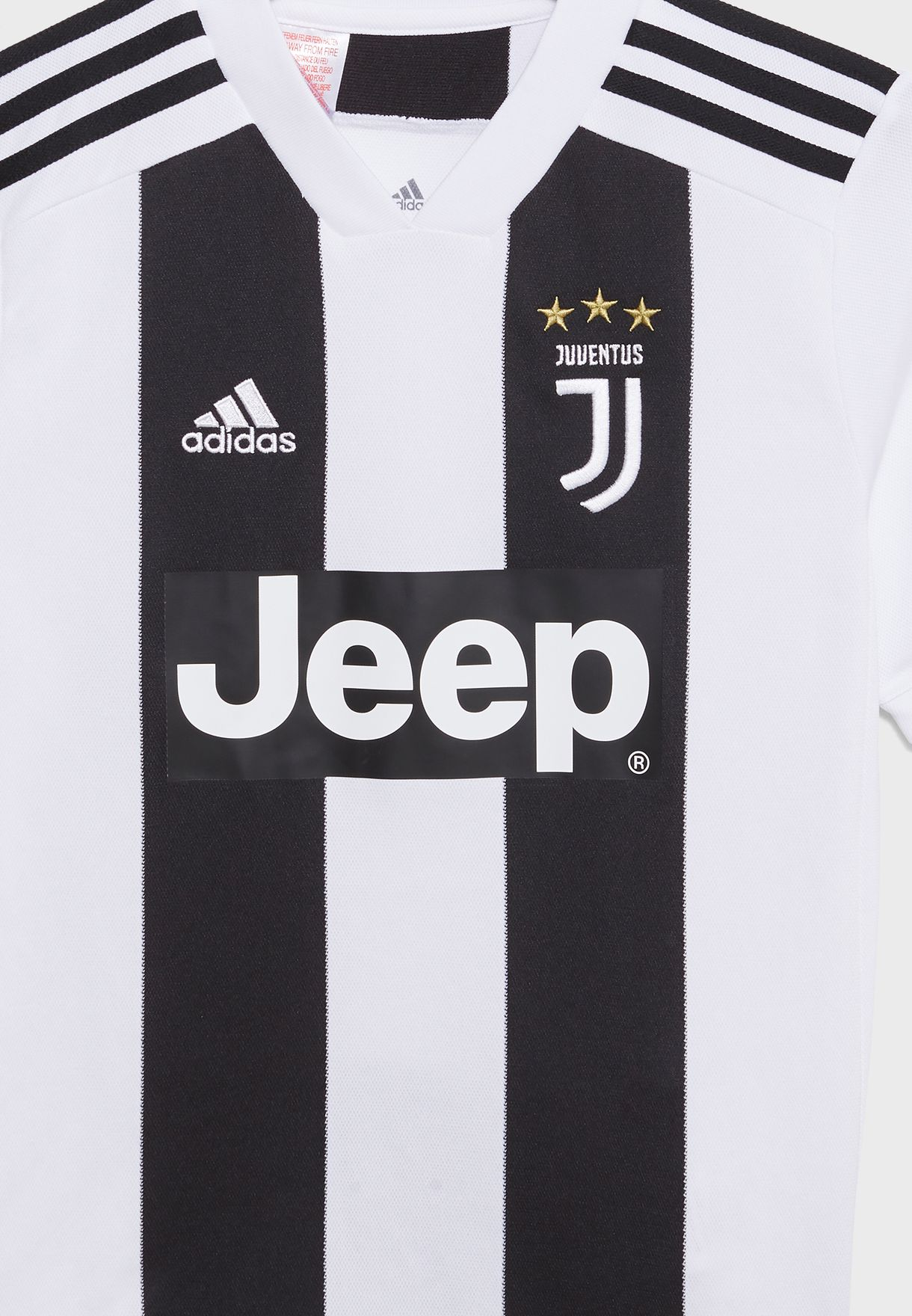 5d1edb421 Shop adidas monochrome Youth Juventus 18 19 Home Jersey CF3496 for ...