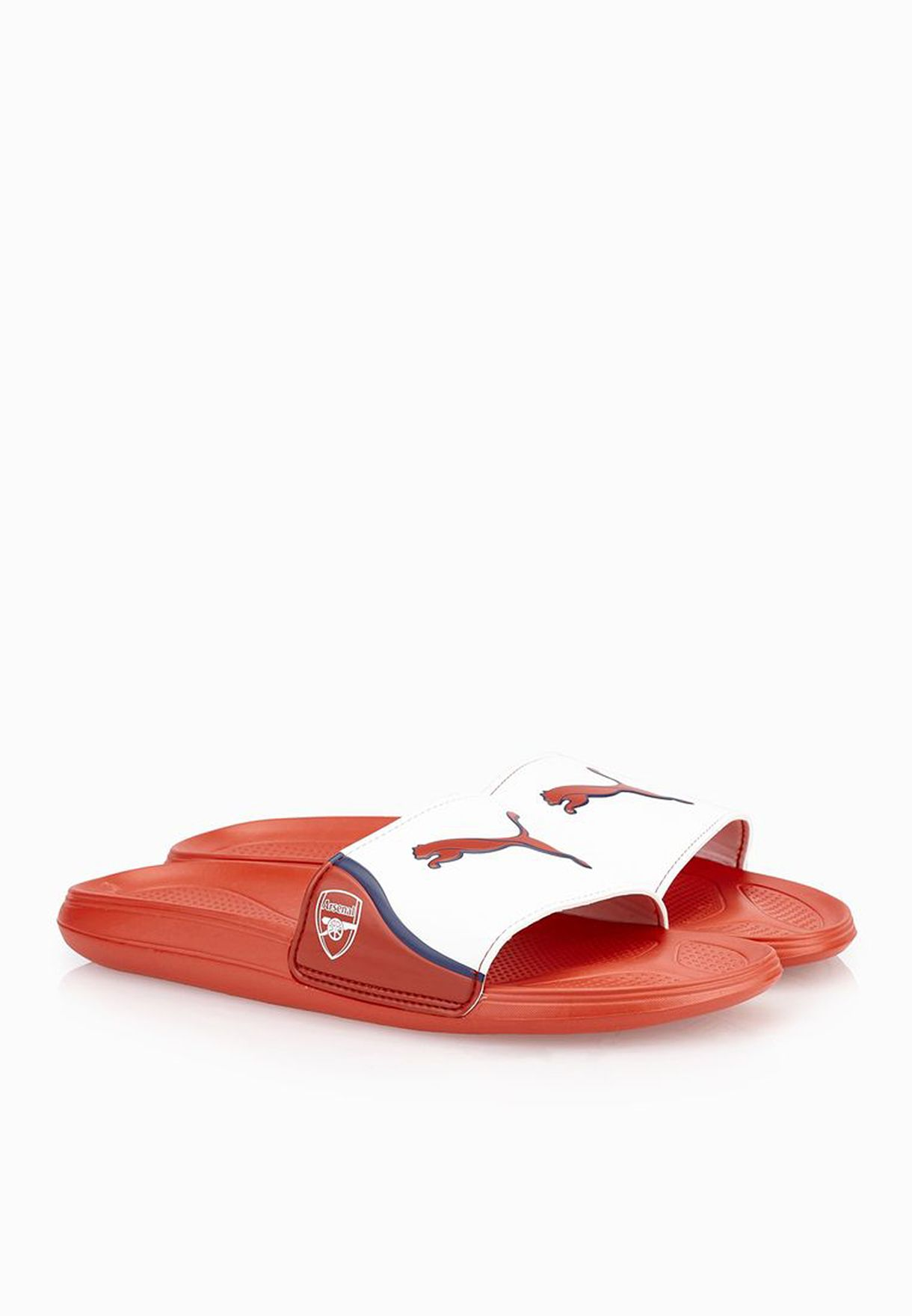 73d187e539e Shop PUMA red AFC Team Cat Sandal 10345501 for Men in Oman ...