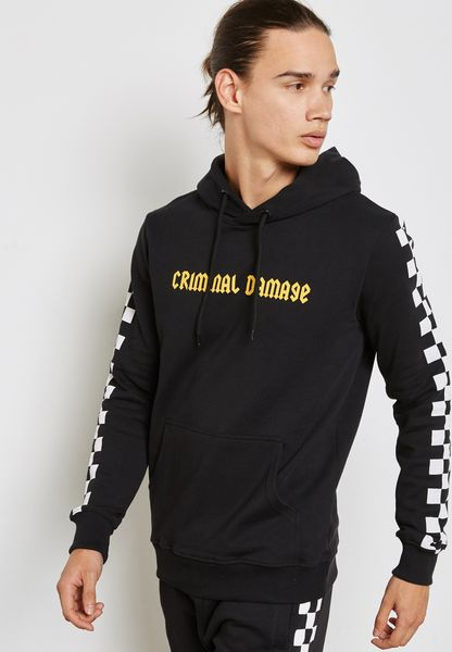 Chequerboard Hoodie