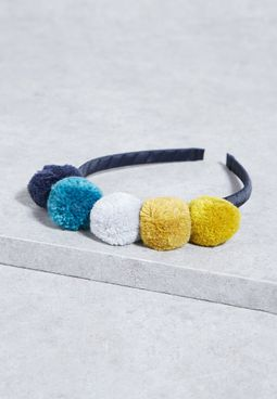 Kids Pom Pom Hairband