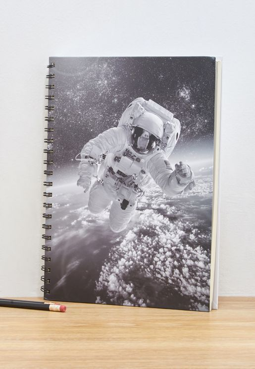 A4 Astronaut Notebook