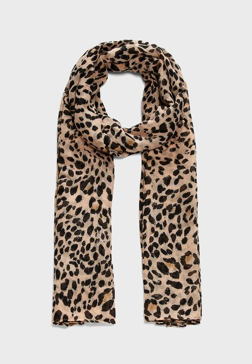 Darcy Animal Print Scarf