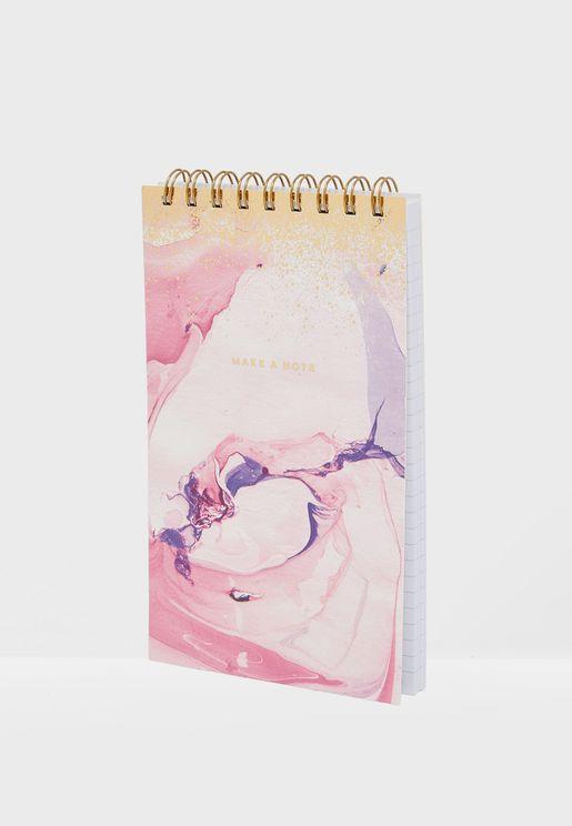 Splatter Flip Out Notepad