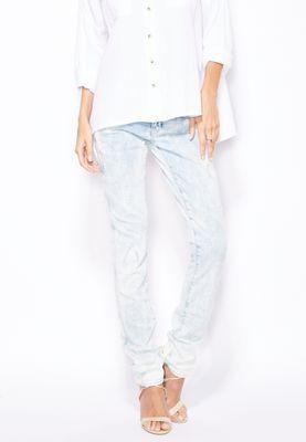 G-Star Raw G-Star Lynn Mid Rise Skinny Jeans