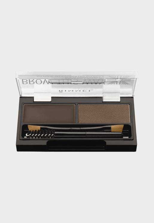 Brow This Way Eyebrow Sculpting Kit- 003 Dark Brown