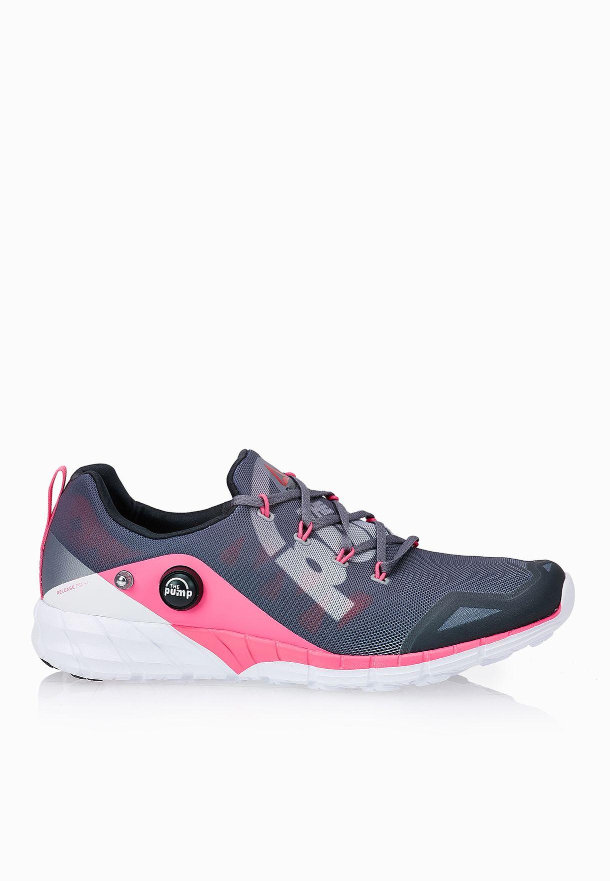 7f60ef184 Shop Reebok grey Reebok ZPump Fusion 2.0 V72140 for Women in UAE ...