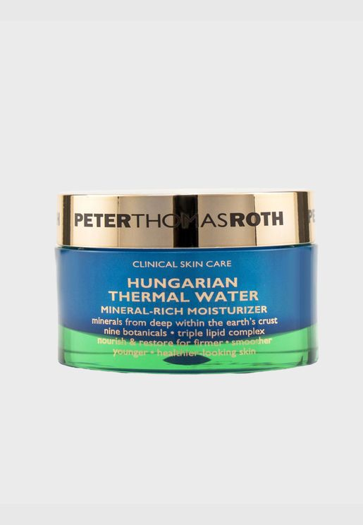 Hungarian Thermal Water Mineral-Rich Moisturizer