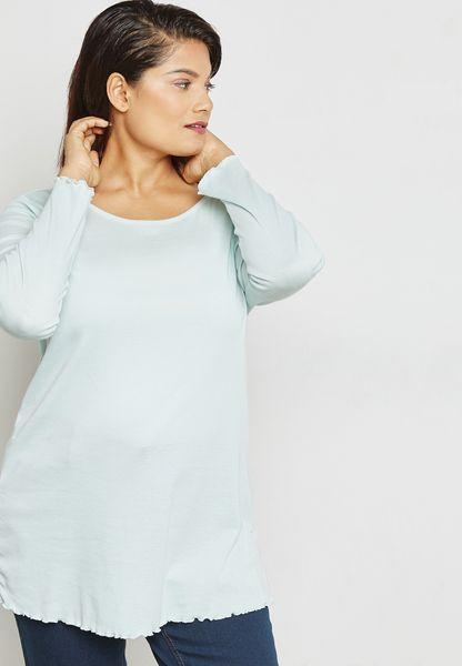 Ruffle Edge T-Shirt