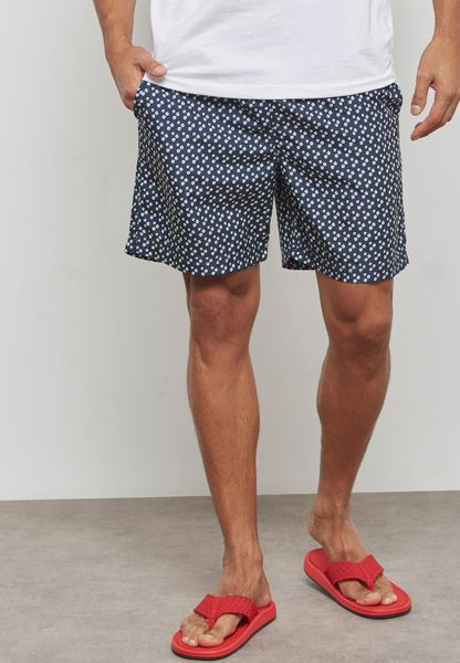 Heritage Aop Flower Print Swim Shorts