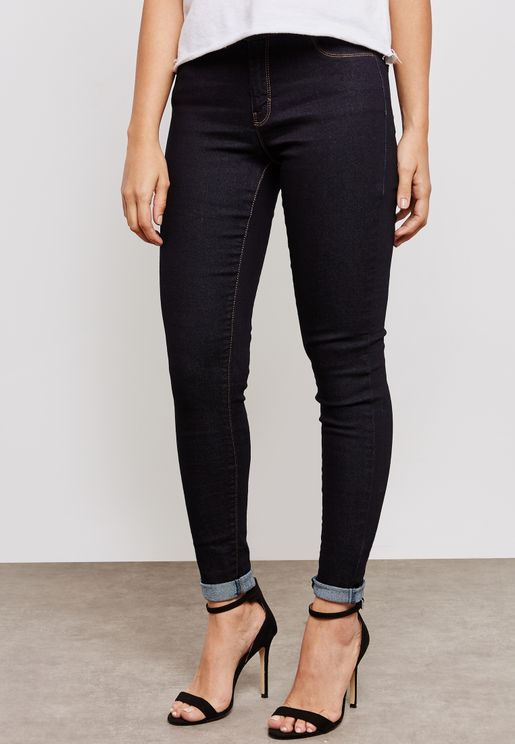 Ashley Mid Rise Skinny  Leg Jeans