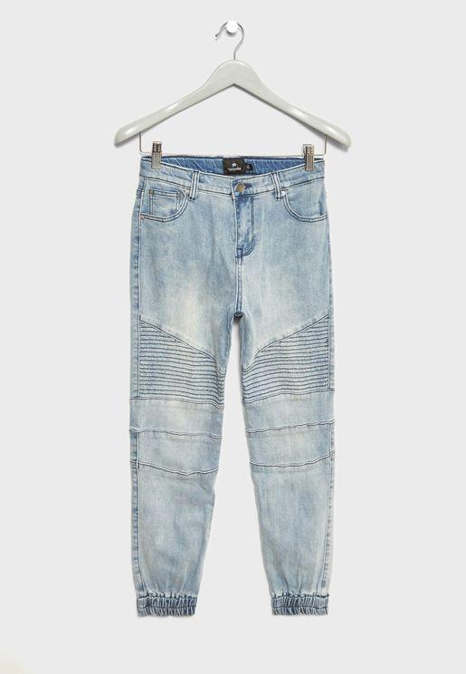 Teen Cuffed Jeans