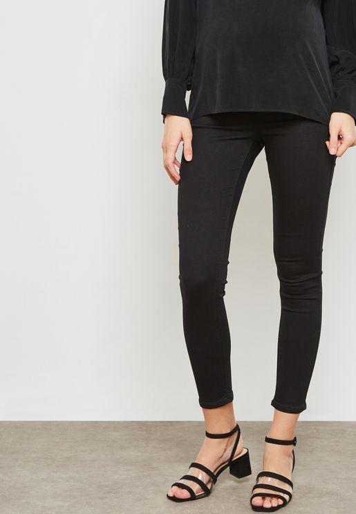 MOTO Joni Over the Bump Skinny Jeans
