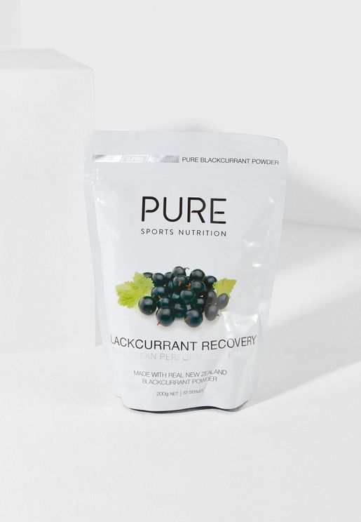 Blackcurrant Recovery 200g
