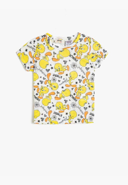 Loney Tunes Licenced Printed T-Shirt