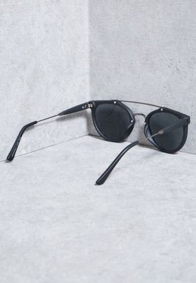 Topman Sunglasses  topman black round sunglasses 56s05pblk for men in uae