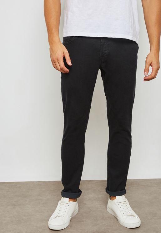 Glen Slim Fit Jeans