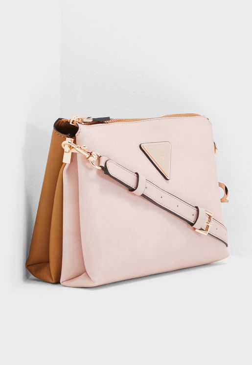 Jade Top Zip Crossbody
