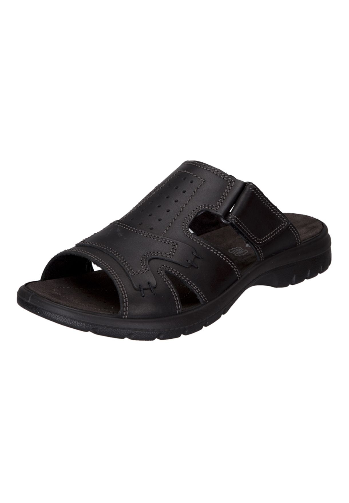 b957662ef2e4 Shop Imac black Leather Dress Sandals for Men in UAE - IM078SH48ERF