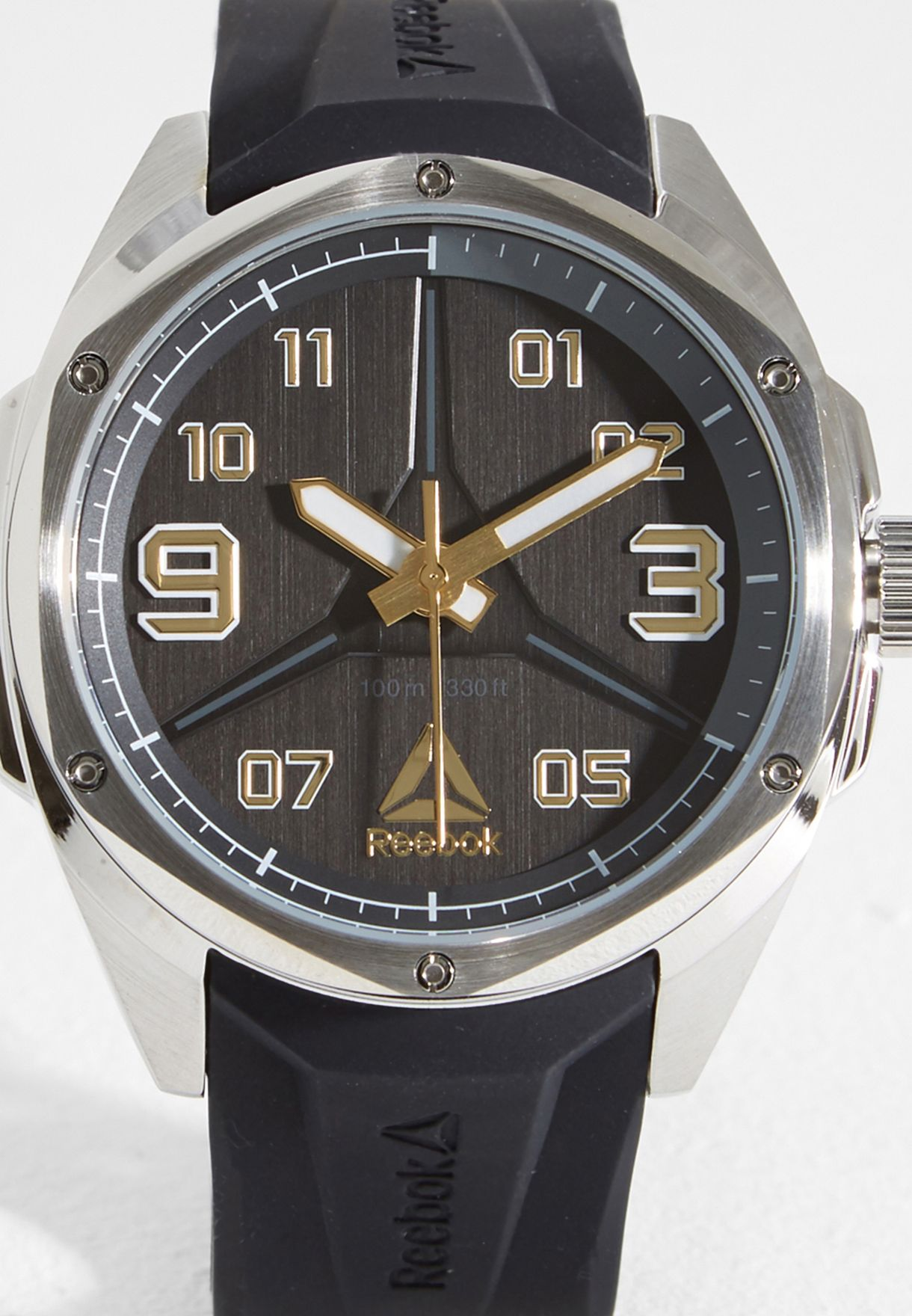 fd19bab09b7de6 Shop Reebok black Uppercut Watch RD-UPP-G2-S1IB-B2 for Men in UAE ...