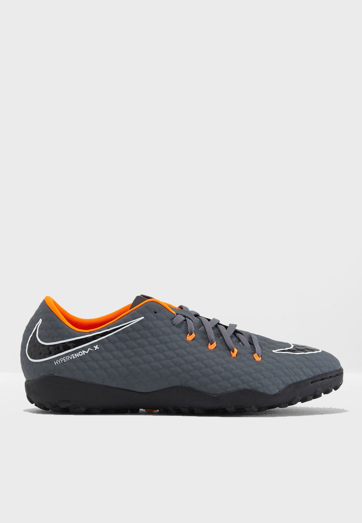 c42587f7403 Shop Nike grey Hypervenom Phantomx 3 Academy TF AH7279-081 for Men ...