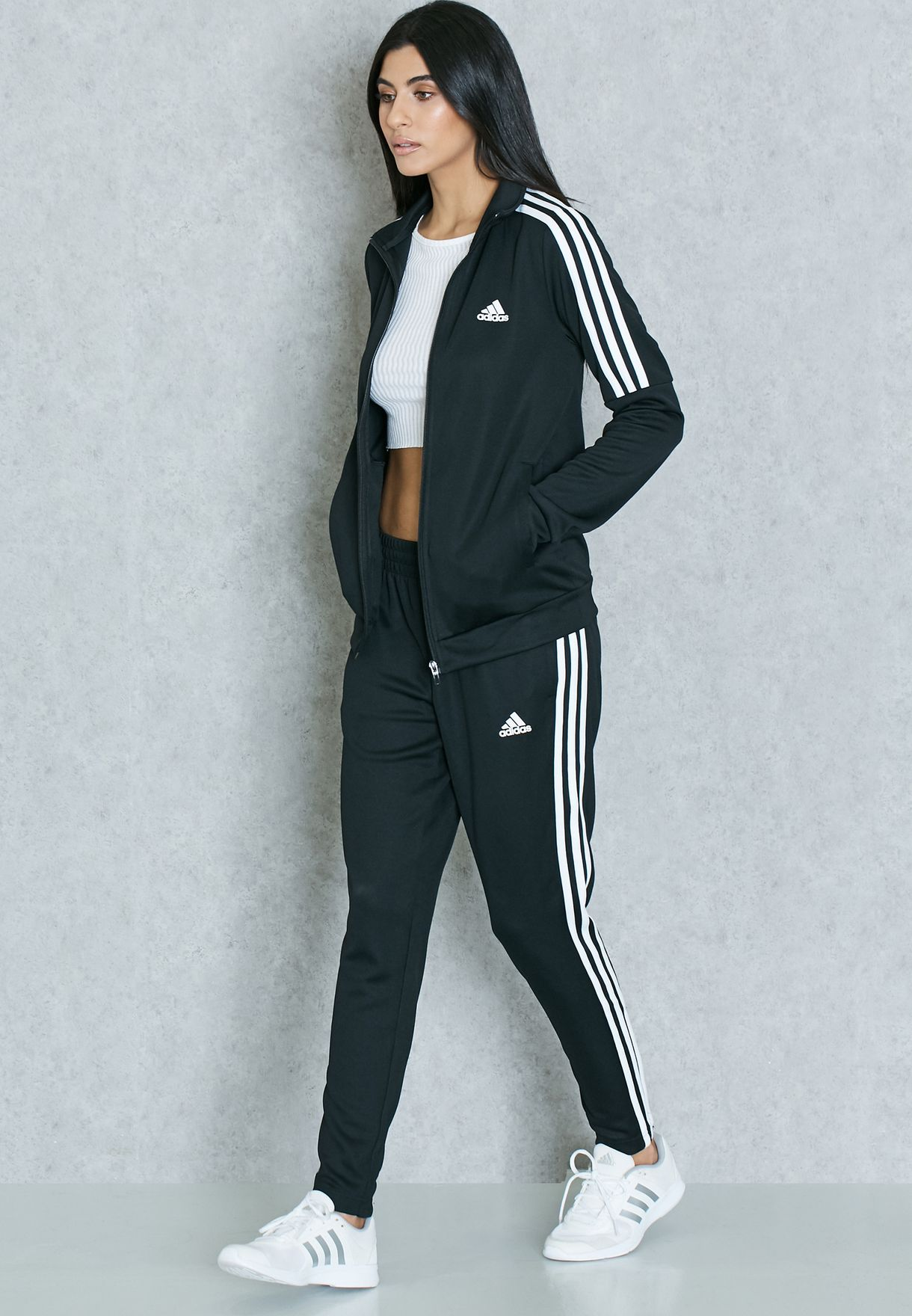 a271294a820 Shop adidas black Tiro Tracksuit BK4695 for Women in UAE - AD476AT48KSL