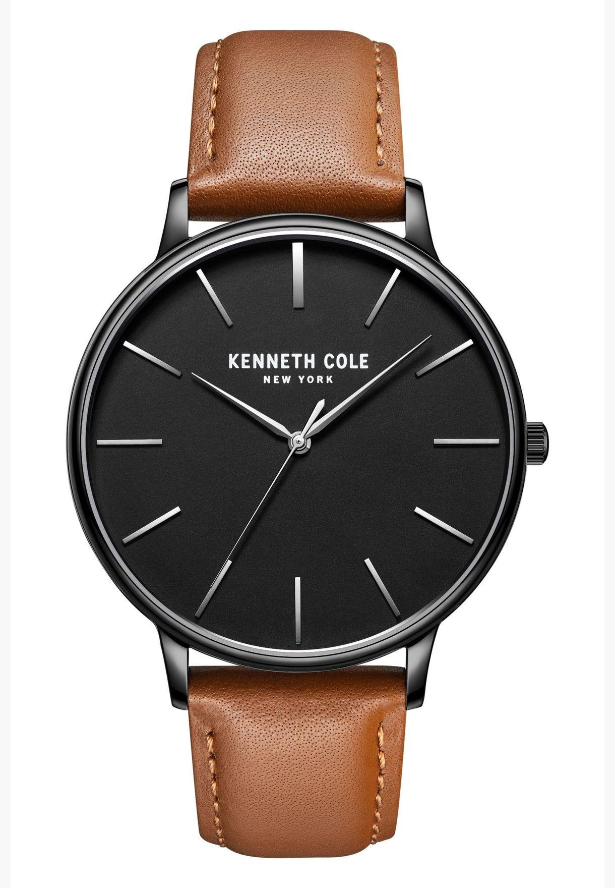 ساعة كلاسيك جلد للرجال من كينيث كول - KC51111004