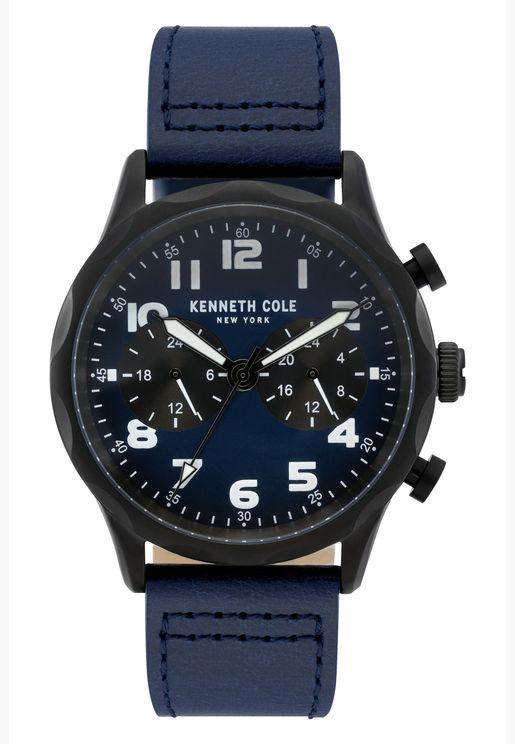 كينيث كول ساعة رسمية للرجال بسوار من الستانلس ستيل - KC51026002