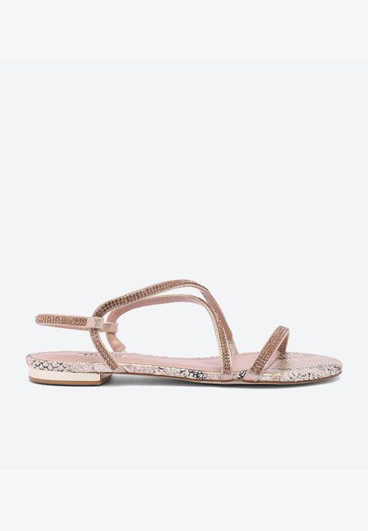 Nicci Di Flat Sandals - Pink