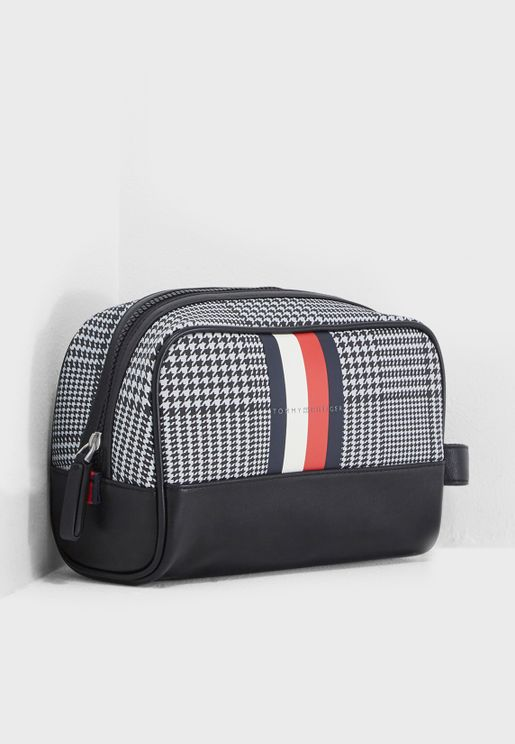 Block Stripe Washbag