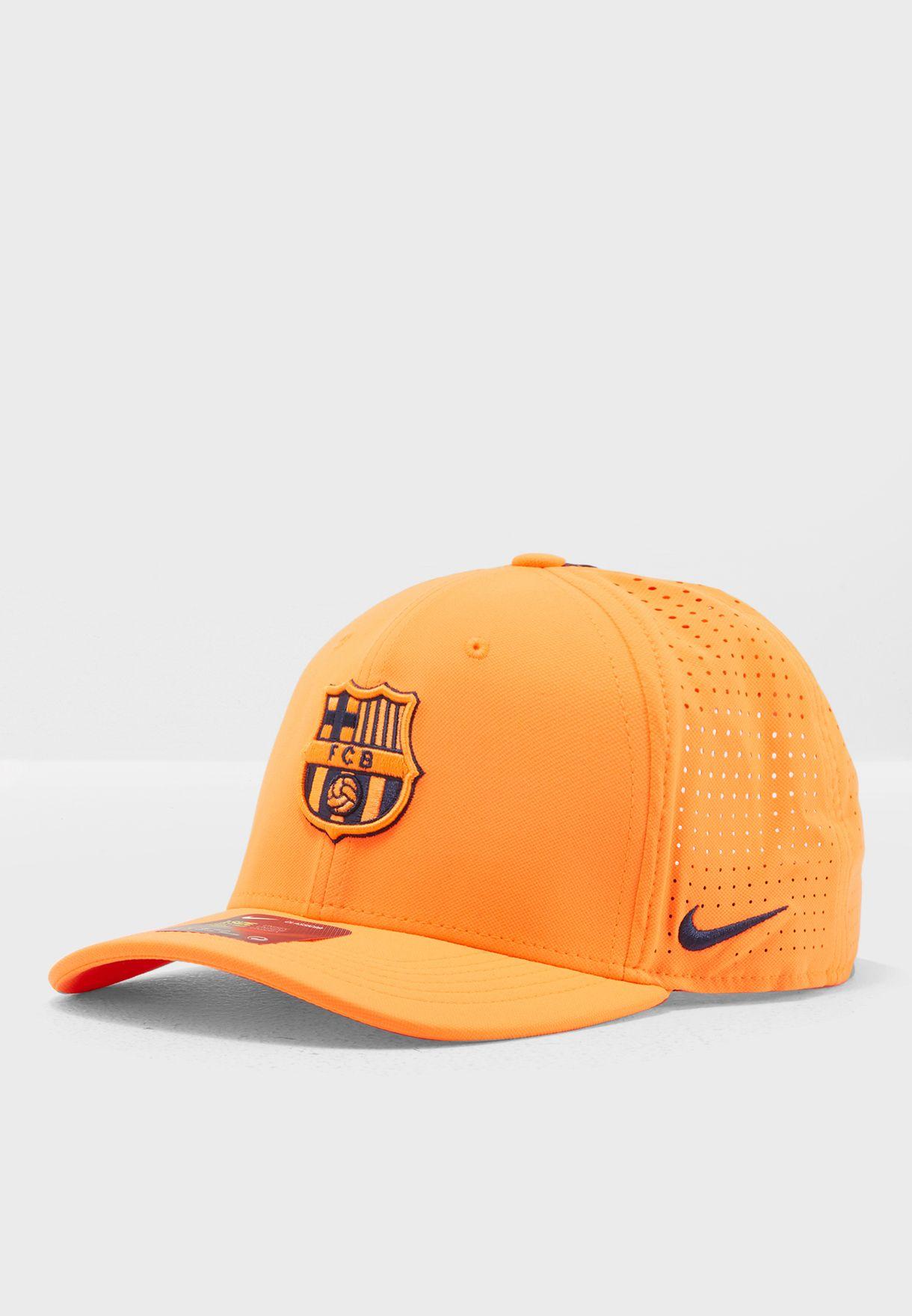 57358d8b89 Shop Nike orange FC Barcelona Pro Cap 916570-809 for Men in UAE ...