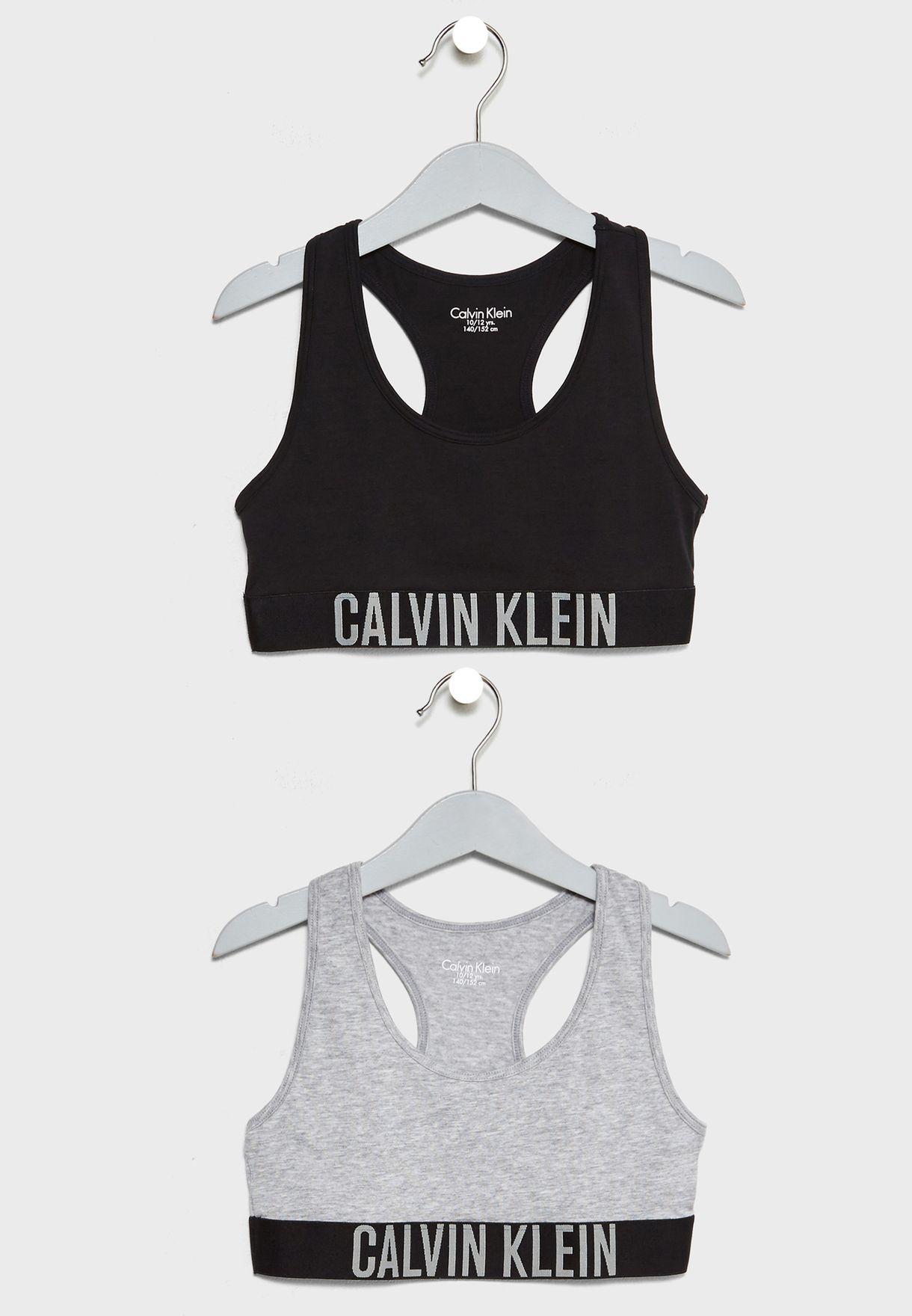 9bb81d8686e8cd Shop Calvin Klein multicolor Teen 2 Pack Bralette G80G800143 for Kids in  Qatar - CA787AT48DEX