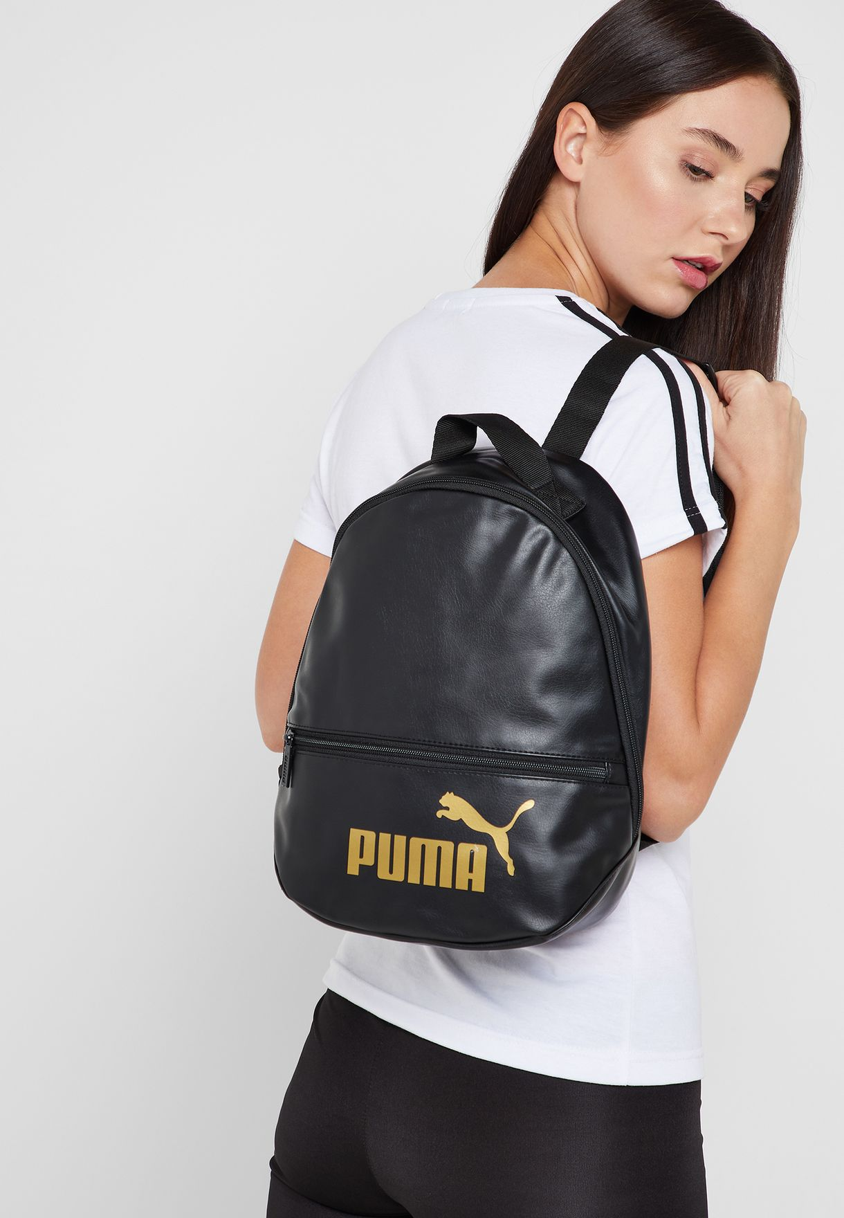 e94a5e1b3 Shop PUMA black Core Up Archive Backpack 7595201 for Women in ...