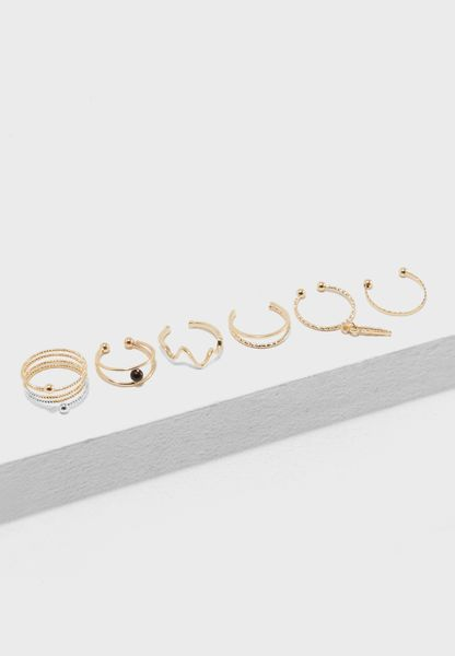 Ruma Rings Pack of 6
