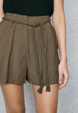 Rope Self Tie Shorts