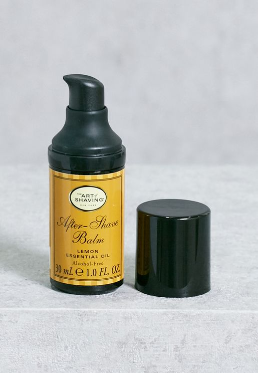 After Shave Balm - Lemon Essential Oil