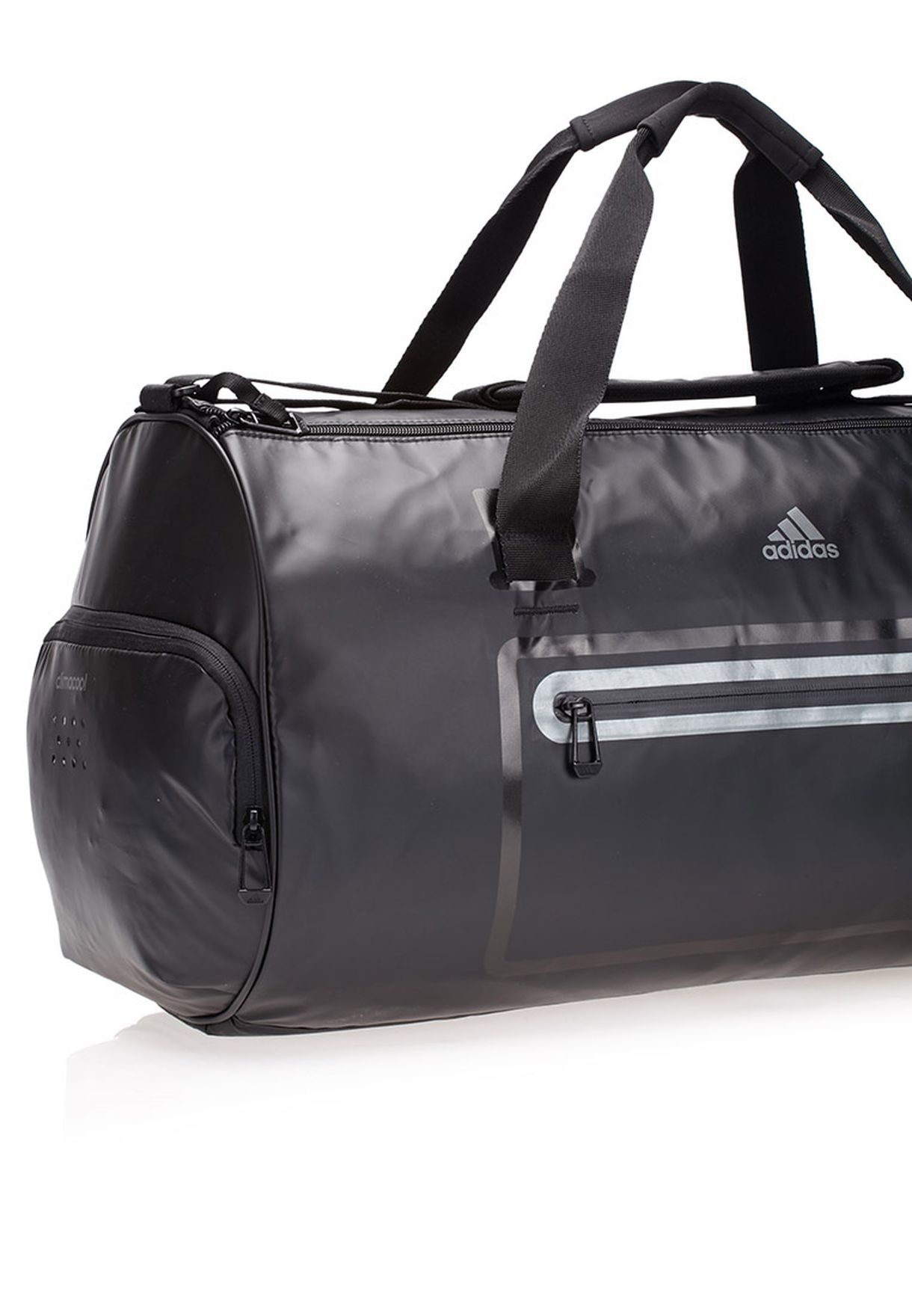 d0bd6ded5b7f Shop adidas black Medium Climacool Duffel Bag S18198 for Men in UAE ...