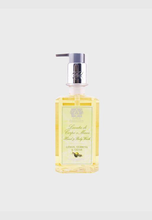 غسول لليدين والجسم - Lemon, Verbena & Cedar
