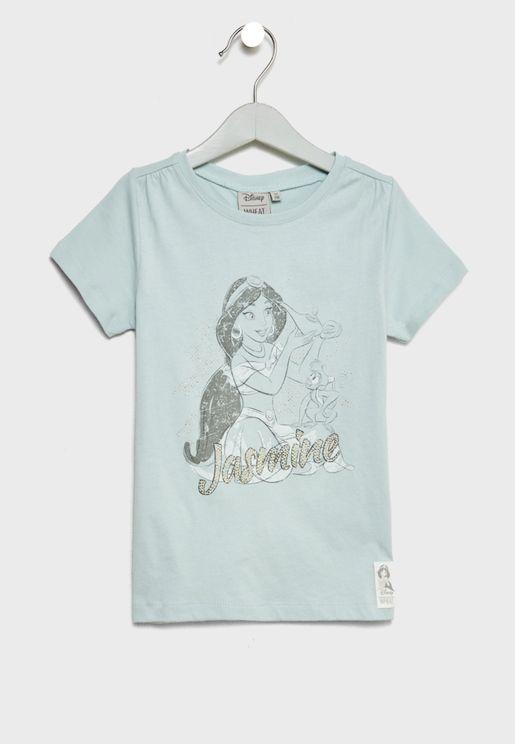 Little Jasmine Rhinestones T-Shirt