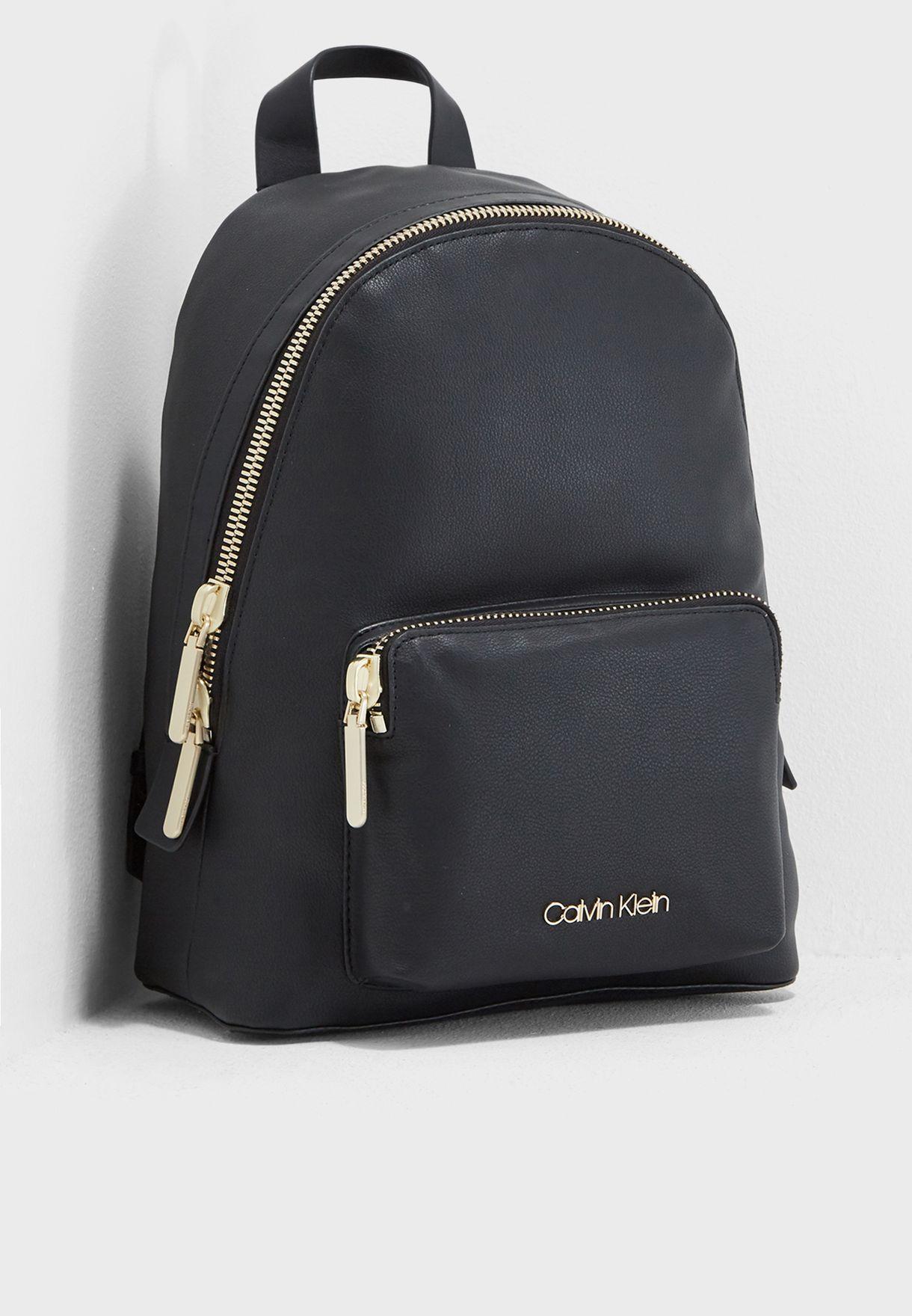 Shop Calvin Klein Black Drive Backpack K60k604462 For