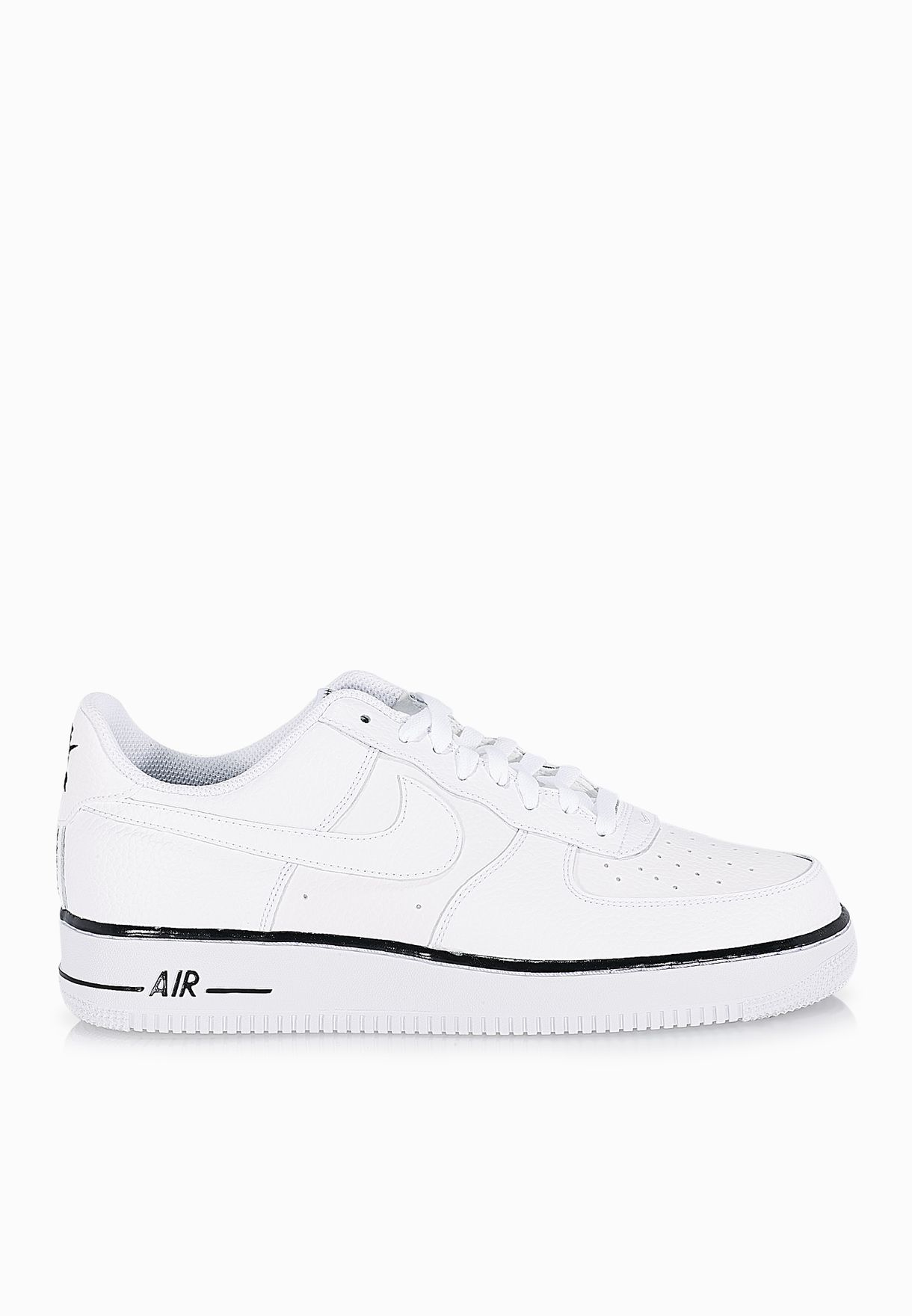 new style 5126b cb60b Shop Nike white Air Force 1 488298-160 for Men in UAE - NI727SH48EVR