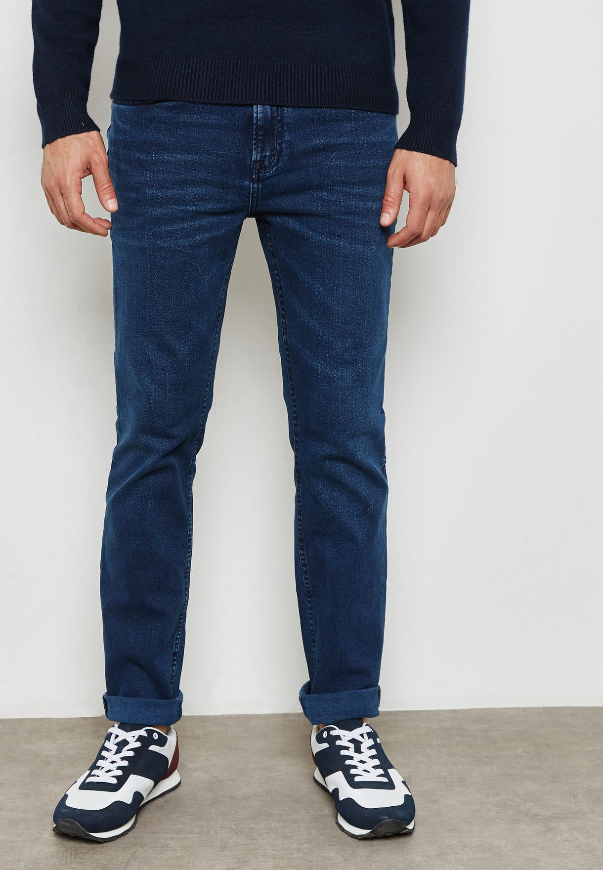 Jan Slim Fit Rinse Jeans