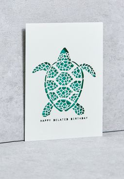 Belated Birthday Turtle