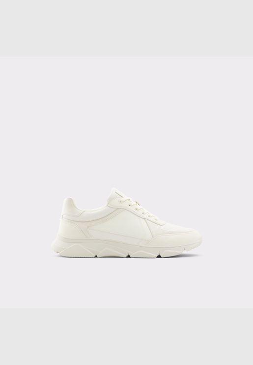 ALDO BRADD Men Synthetic Leather Shoes Flat Heel Euro 46 Beige