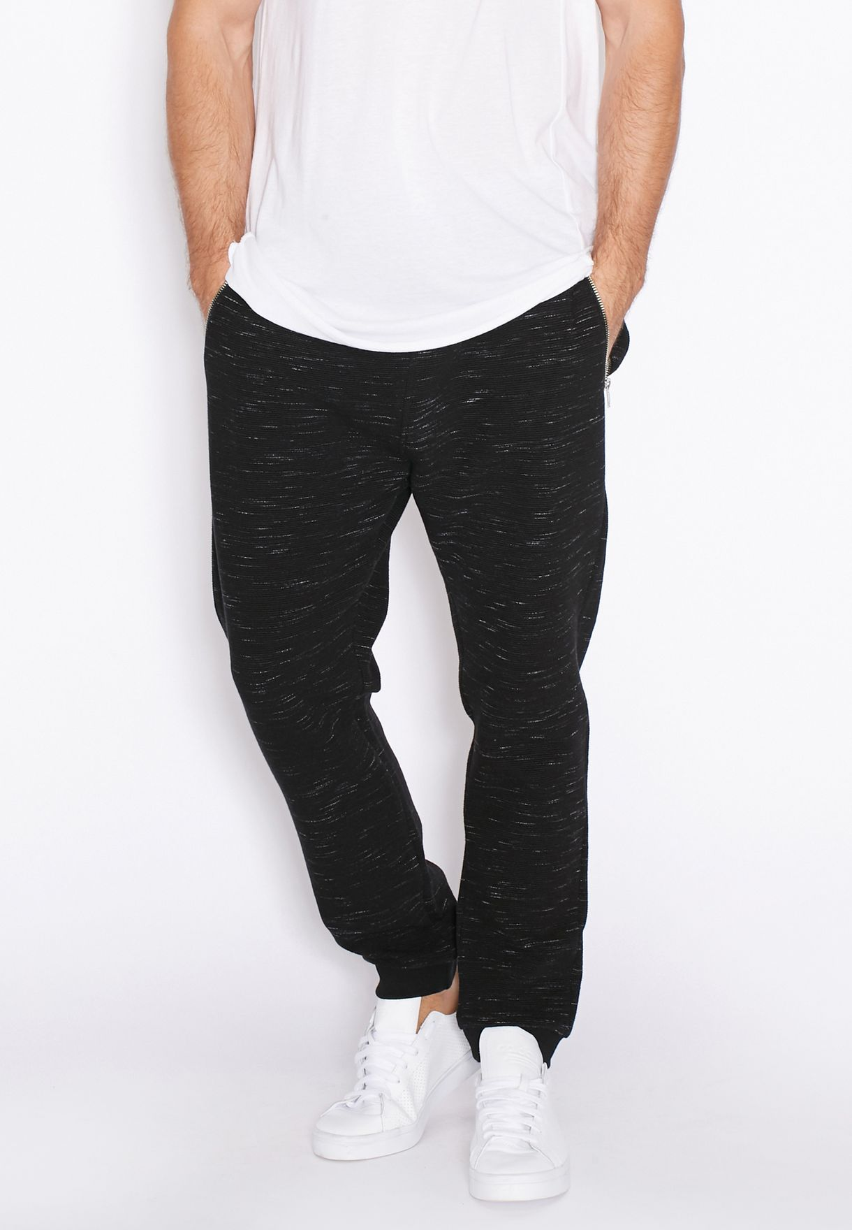 c70ae2c0 Shop Topman black Ottoman Sweatpants for Men in Saudi - TO857AT48HCH